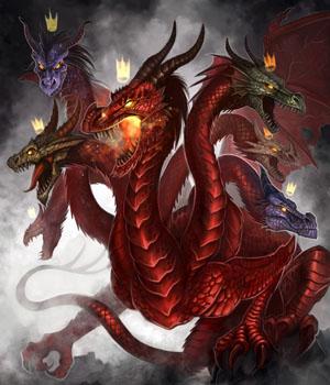 фото дракона в 3d